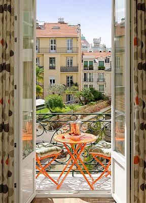 Serenity balcony