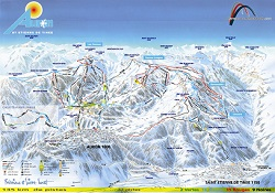 Auron ski slopes